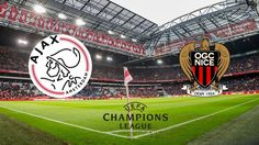 Ajax - OGC Nice 2-2, eerste playoff-ronde Champions League, 2 augustus 2017, ArenA Amsterdam