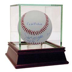"Joe Morgan Signed MLB Baseball w/ ""HOF 90, 10x All Star, 5x Gold Glove, 2x WS Champs 75-76, 2x NL MVP 75-76"" insc"
