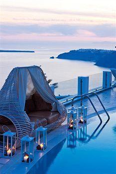 Santorini Princess Luxury Spa Hotel, Santorini, Grecia #spa #dreamspa #luxuryspa #sparesort