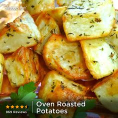 """""""A great roasted potato side dish made with olive oil and herbs."""" —JMRYGH 