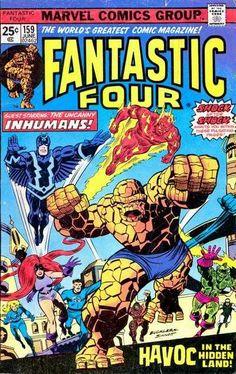 Fantastic Four # 159 by Rich Buckler & Joe Sinnott