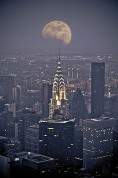 When you get caught between the moon and New York City......
