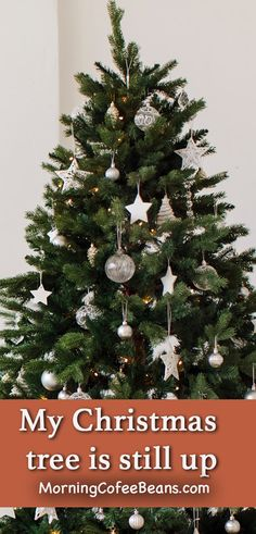 My Christmas tree is still up This is a short story of why my tree is still up. Many Christians celebrate the Feast of the Epiphany which ends on Jan. 6th. #holidaystories #shortstories