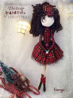 Georgie Urchin Art Doll by Vicki at Lilliput Loft