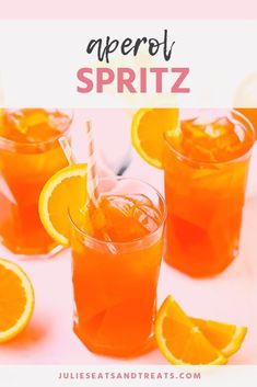 Aperol Spritz Cocktail is a delicious Italian Cocktail with only three ingredients including Prosecco, Aperol and club soda. It's a brilliant orange hue! Best Summer Cocktails, Refreshing Cocktails, Easy Cocktails, Fun Drinks, Beverages, Italian Cocktails, Gin Cocktail Recipes, Prosecco Cocktails, Drink Recipes
