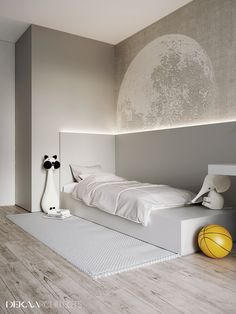 47 Modern Kids Room Design Ideas Thah Built In Beds - Each and every room of your home is undoubtedly very important and needs special care and attention in its decoration. But when it comes to your kids . Baby Room Decor, Bedroom Decor, Bedroom Bed, Kids Room Design, Cheap Home Decor, Home Interior Design, Interior Ideas, Home Remodeling, House Design