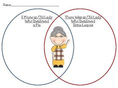 Free venn diagram worksheets to introduce children to advanced i know an old lady who swallowed a pie there was an old lady who swallowed leaves venn diagram ccuart Choice Image