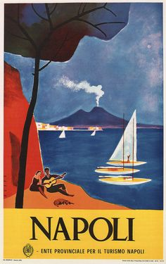 Vintage Travel Tourism Poster Art Prints of Italy Set of 6 A4 Colour Reprints