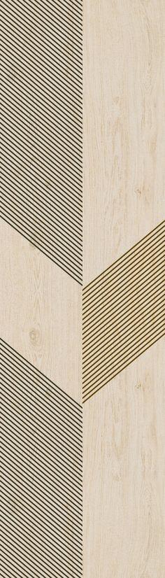 Revestimiento de pared/suelo de gres laminado imitación madera SLIMTECH TYPE-32 by LEA CERAMICHE diseño Diego Grandi
