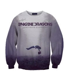 Imagine Dragons crewneck sweatshirt Fan Art by TrendingApparel