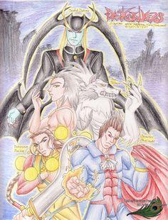Darkstalkers Fan Art 2 - 2007 by KatherineRosePeacock on DeviantArt