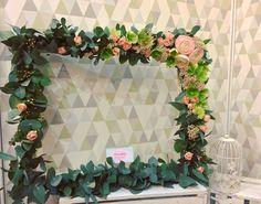 Flowerdipity Photo Frame #flowers #event #photo #frame #wedding #precious #memories #flowerdipity #floral #design