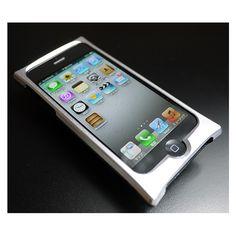 【【iPhone5s/5 ケース】Smart HYBRID (Silver1×Black)】iPhoneバンパー内側にクッションシートを貼ることで、iPh…