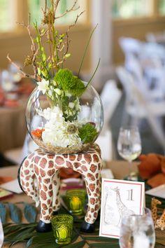 safari theme wedding   Zoo Theme Wedding 275x412 Safari Inspired Wedding at Maryland Zoo in ...