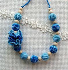 Nursing necklace   Necklace Boho  Sling Accessory  от NittoMiton