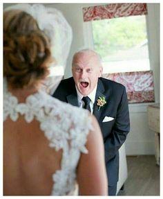 #avô #noiva #casamento #emoção