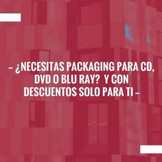 Fingers crossed but I'm hoping you'll love this: ¿Necesitas packaging para CD, DVD o Blu Ray?  y con descuentos solo para ti http://zirigoza.blogspot.com/2017/05/necesitas-packaging-para-cd-dvd-o-blu.html?utm_campaign=crowdfire&utm_content=crowdfire&utm_medium=social&utm_source=pinterest