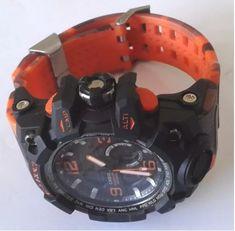 65978096513 Loja Virtual Cabanascuba · Relógios e Smartwatch · Relogio G Shock  Mudmaster Camuflado Laranja