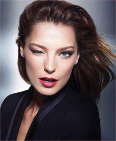 daria werbowy lancome jason wu makeup Daria Werbowy Gives a Wink in New Lancôme x Jason Wu Makeup Ad