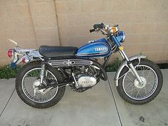 1973 Yamaha Other Sport Motorcycles, Yamaha Motorcycles, Japanese Motorcycle, Dual Sport, Old Bikes, Classic Bikes, Vintage Japanese, Back In The Day, Scooters