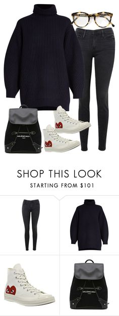 """Sin título #2145"" by alx97 ❤ liked on Polyvore featuring Frame, Acne Studios, Comme des Garçons, Balenciaga and Cutler and Gross"