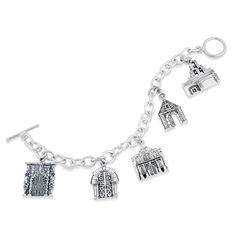 Lee Michaels Fine Jewelry | Exclusive San Antonio Mission Bracelet.  I really want one of these!!!
