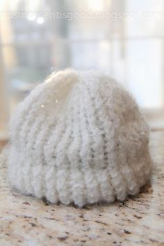 ...: LOOM KNIT SNOWY SOFT HAT