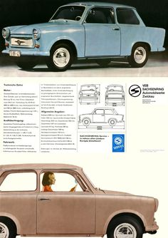 #Trabant 601 East German Car, East Germany, Sleepy Cat, Car Detailing, Old Cars, Vintage Ads, Cars And Motorcycles, Benz, Audi