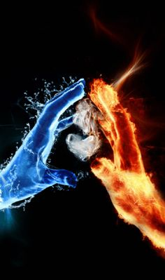 Fire VS Water This is your father and mother Skye