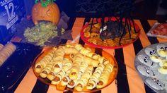 Halloween-style snacks!