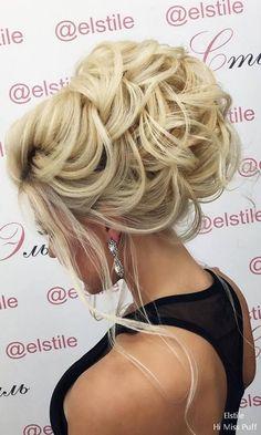 Elstile Wedding Updos Long Hairstyles for Wedding #weddinghairstyles