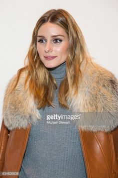 Olivia Palermo attends the Jonathan Simkhai fashion show during February 2017 New York Fashion Week The Shows at Gallery 1 Skylight Clarkson Sq on...
