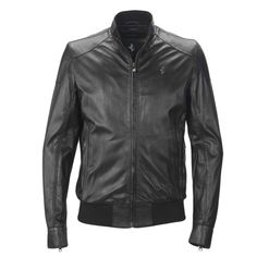best leather jacket ever by Ferrari <3