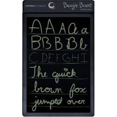 Boogie Board 8.5-Inch LCD Writing Tablet (PT01085BLKA0000) --- http://bizz.mx/9mw