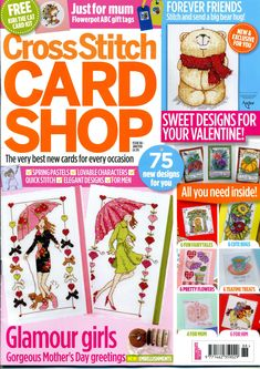 Cross Stitch Card Shop Issue 88 patterns pinned