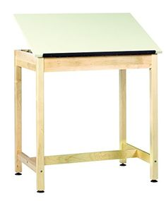Diversified Woodcrafts DT9A37 UV Finish Solid Maple Wood ArtDrafting Table with 1 Piece Top Plastic Laminate Top 36 Width x 36 Height x 24 Depth * Read more  at the image link.
