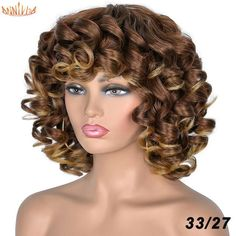 Short Curly Wigs, Kinky Curly Wigs, Afro Wigs, Blonde Wig, Short Blonde, Afro Hairstyles, Black Women Hairstyles, Natural Hair Styles, Short Hair Styles