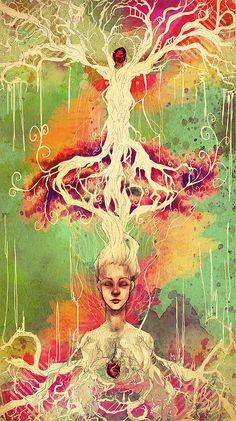 Unity of Life - Source: http://tripsygypsy.tumblr.com/post/14265124998/unity-of-life