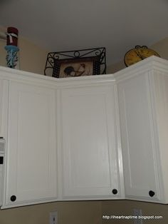 Kitchen Remodel - White Paint over oak cabinets