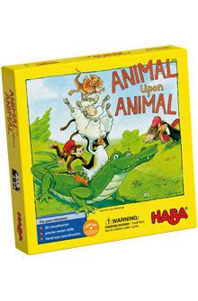 Animal upon animal is a board game, that stimulates precise motor function. From 4-99 years.