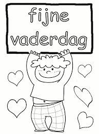 Vaderdag, ook leuk om op een cadeautje te plakken. #happyfathersday #fijnevaderdag #vaderdag Mamas And Papas, Happy Day, Fathers Day, Coloring Pages, School, Kids, Crafts, Petra, Classroom