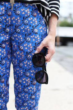 Poor Little It Girl - How To Mix Prints with Florals and Stripes  - @poorlilitgirl