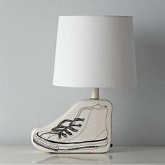 Sketchbook Table Lamp Base (Shoe)  | The Land of Nod