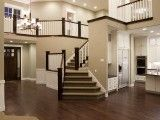 love the gorgeous staircase and the openness!