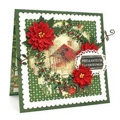 Scrap, Travel, and Bark!: Christmas Card for Cheery Lynn Designs