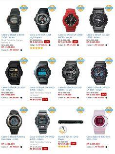 Daftar Harga Jam Tangan Casio G-Shock Terbaru Casio G Shock, Casio Watch
