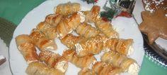 trubičky se sýrem