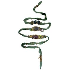 De Petra Green leather wrap bracelet | de petra Diy Jewelry, Beaded Jewelry, Jewelery, Jewelry Accessories, Fashion Accessories, Petra, Green Leather, Or Antique, Beads