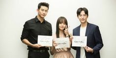 Taecyeon, Kim So Hyun, and more gather for 'Hey Ghost, Let's Fight' script reading | http://www.allkpop.com/article/2016/05/taecyeon-kim-so-hyun-and-more-gather-for-hey-ghost-lets-fight-script-reading