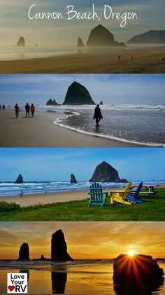 We almost gave up on revisiting Cannon Beach when the weather turned as it so often does on the west coast and a warm sunny day was forecast. We extended our stay and enjoyed another spectacular day and evening taking in Cannon Beach once again. http://www.loveyourrv.com/rving-stop-along-highway-101-cannon-beach/ #Highway101 #Oregon